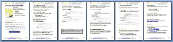 Un document de 6 pages illustrées.